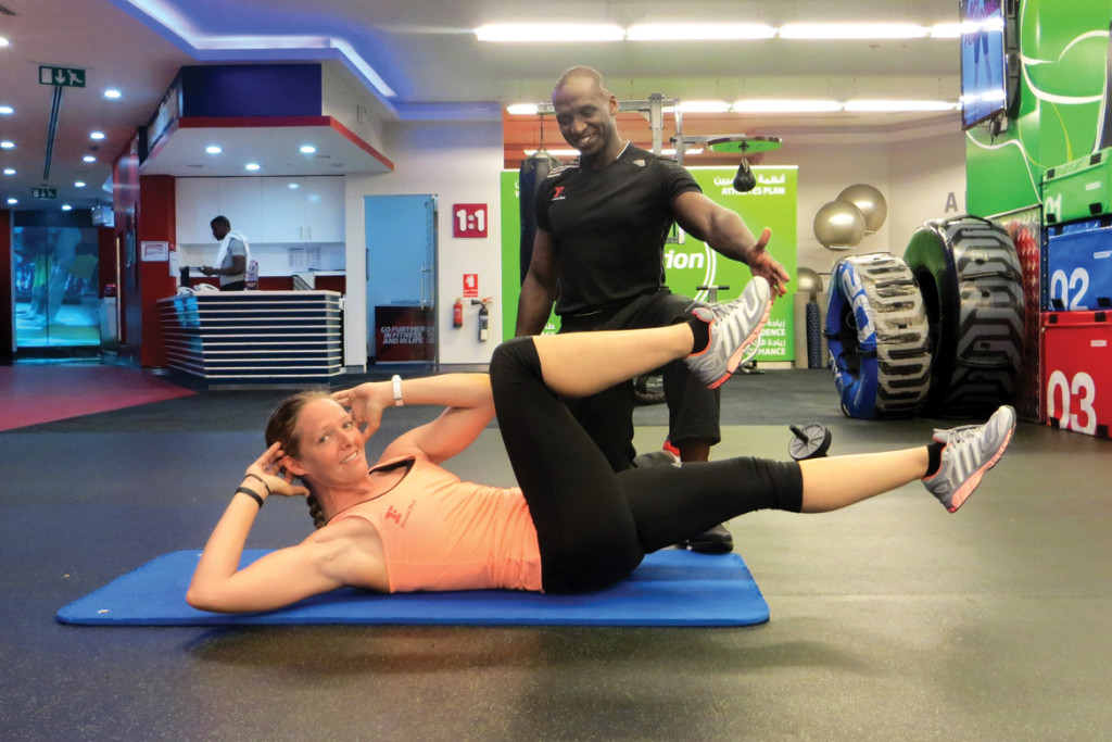 5 CORE exercises to build your engine