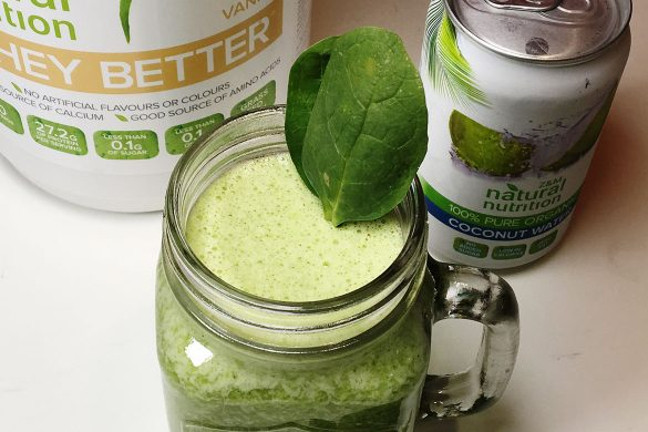 Spinach-coconut-water-shake