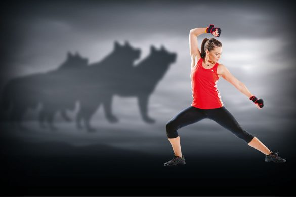 Fittest Female Trainer Unleashes her inner Wolf